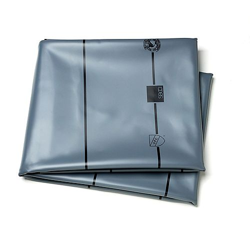 5 Feet.  X 6 Feet.  40mil Gray Pvc Liner Kit*