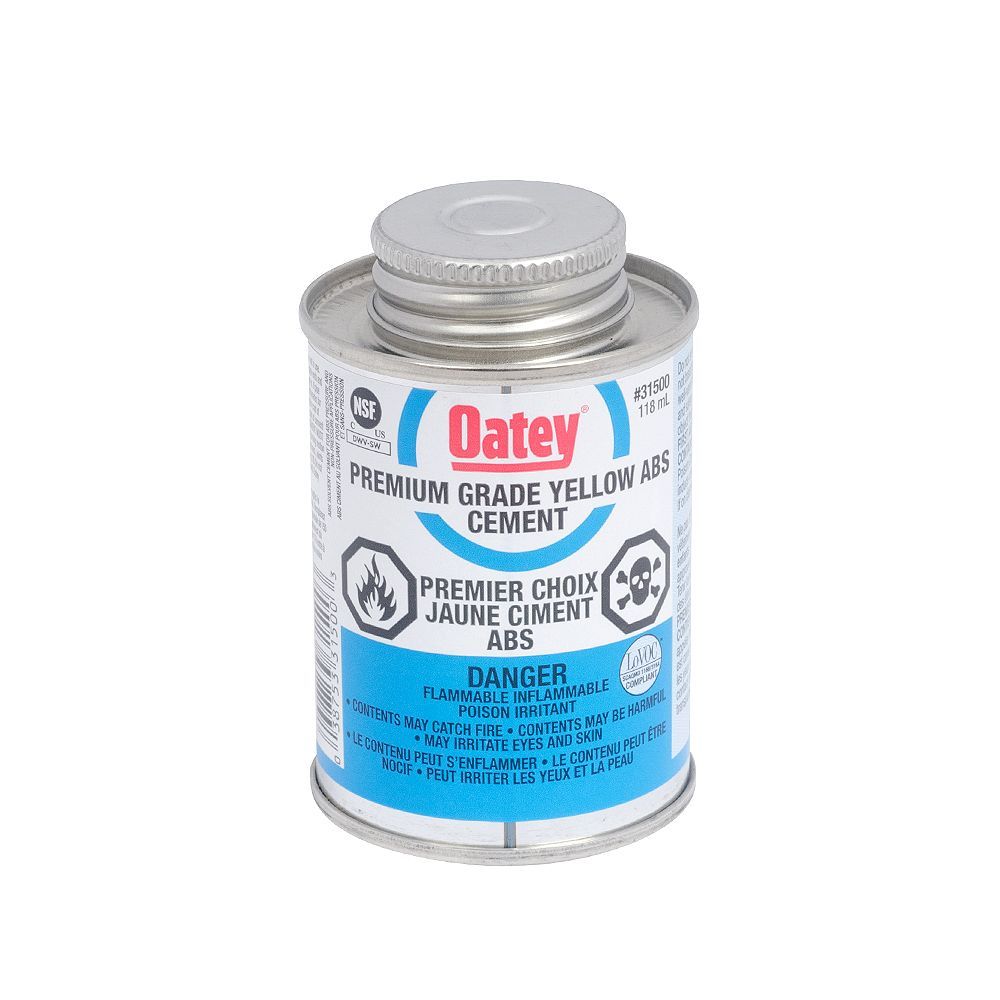 Oatey 118 Ml Abs Cement Yellow (C)
