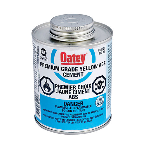 473 Ml Abs Cement Yellow (C)