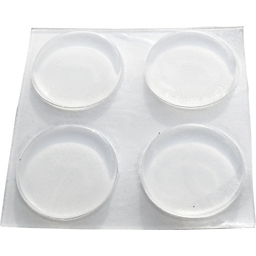 3/4 inch Self-Adhesive Vinyl Surface Pads (8-Pack)