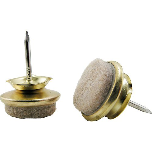Everbilt 1-inch Felt Base Nail-On Swivel Glide