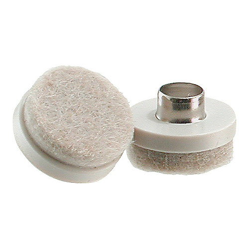 1-inch Nail-On Glides with Heavy-Duty Felt Pads (8 per Pack)