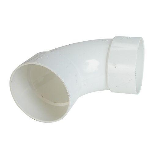 Long 90° Elbow 4 inch Hub