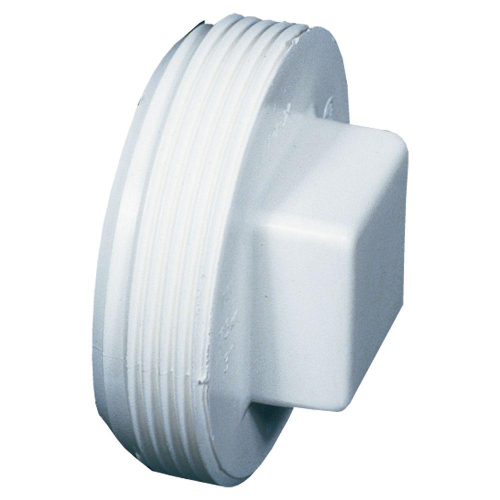 PVC-BDS Bouchon de Nettoyage  4 po m fil.