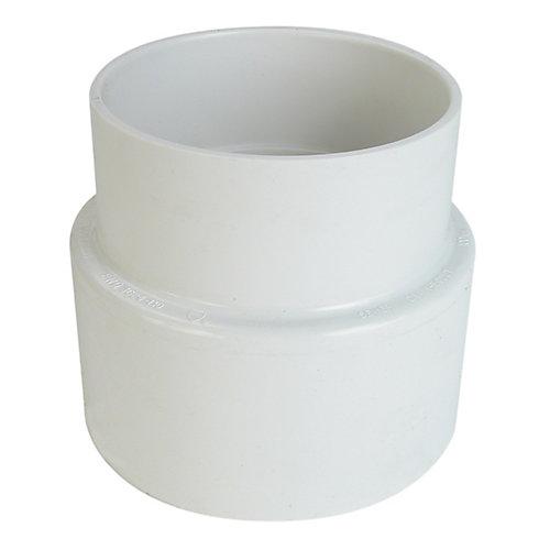 Adaptateur PVC à fonte  É/D à fonte bout mâle 4 po Femelle
