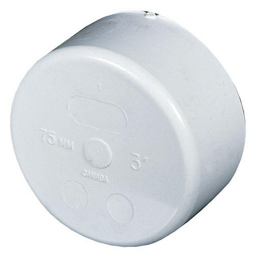 PVC-BDS Cap 3 inch Hub