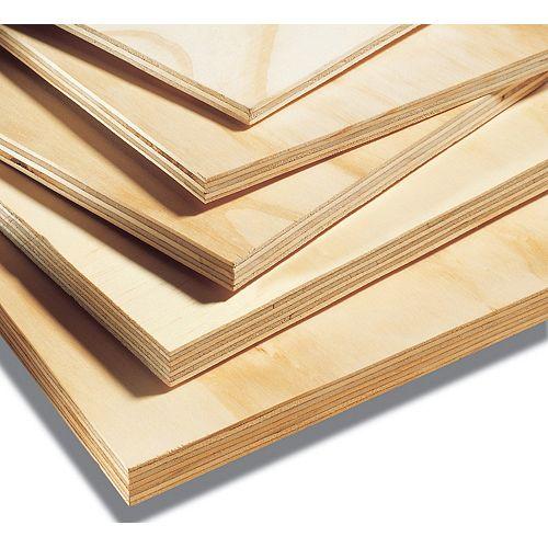 Premium Pine Plywood ACX 3/4 inch x 4 ft. x 8 ft.