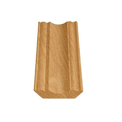 Alexandria Moulding Oak Ogee/Crown 11/16 In. x 3-1/4 In.