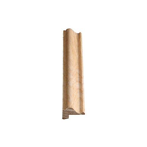 Alexandria Moulding Oak Ply Cap 3/4-inch x 1-1/4-inch