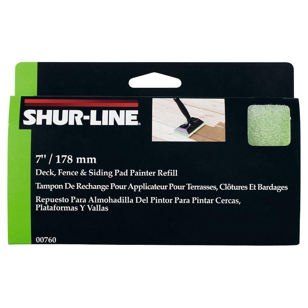Shur Line Tampon de rechange pour applicateur pour terrasses, clôtures et bardages