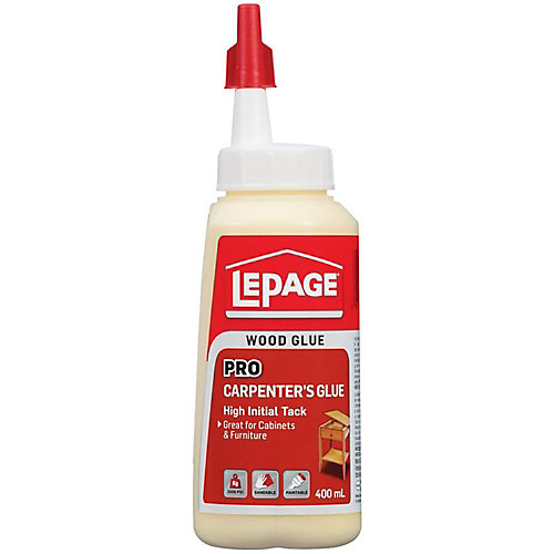LePage Colle de Menuisier Pro 400mL