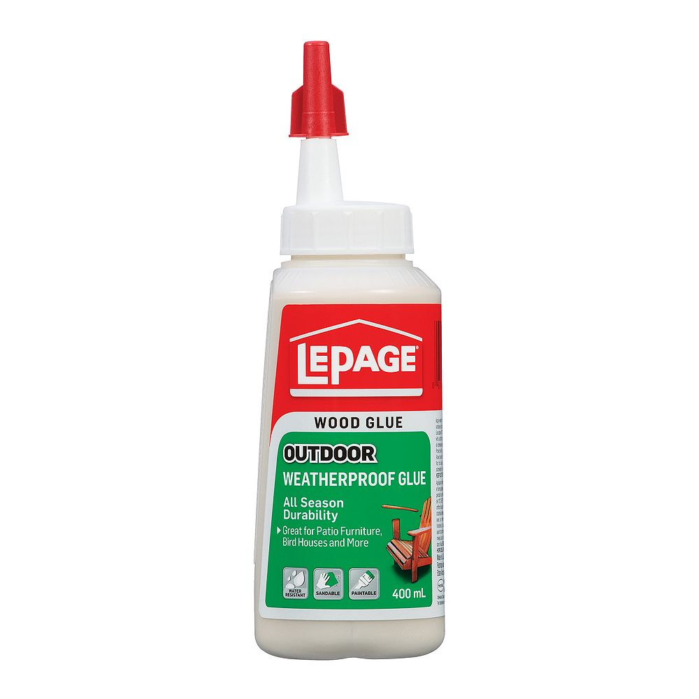 LePage 400ml de colle résistante aux intempéries pour l'extérieur