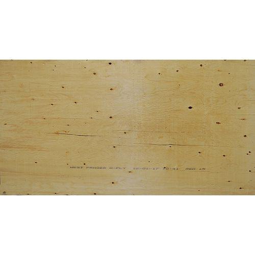 """5/8"""" 4'x8' Standard Rainure et Laguette (T&G) contreplaqué Spruce"""