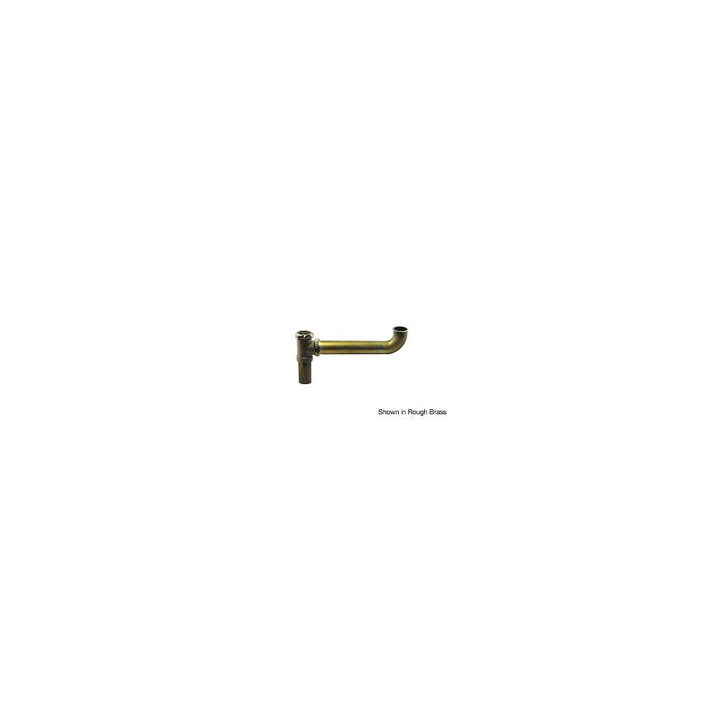 """OS&B Brass 1-1/2"""" x 16"""" End Outlet Continuous Waste - Slip Joint Connect"""
