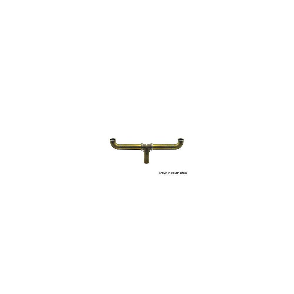 """OS&B Brass 1-1/2"""" x 16"""" Centre Outlet Continuous Waste - Slip Joint Connect"""
