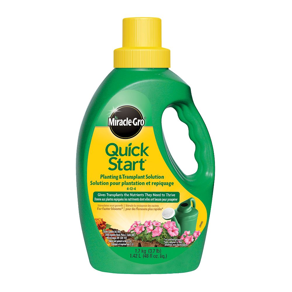 Miracle-Gro Quick Start Plant Food