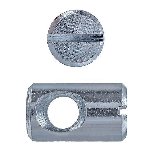Paulin 1/2 x 3/4L-inch Slot Drive Cross Dowel Zinc Plated