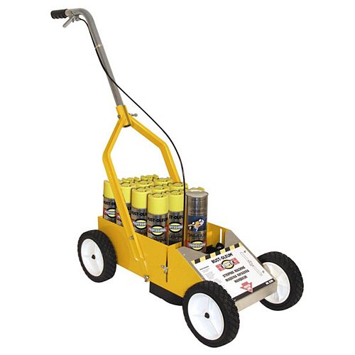 Striping Machine for Rust-Oleum Professional Striping Paint Spray