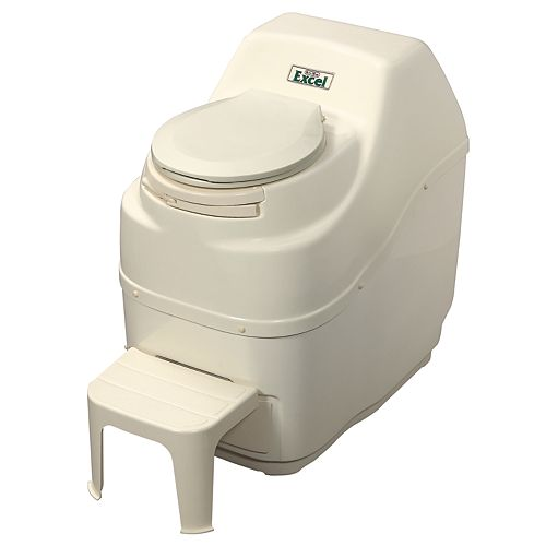 Excel Electric Composting Toilet in Bone