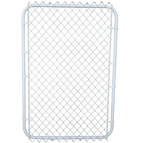 Barrière 42po x 60po blanc sur blanc avec maille de 2po