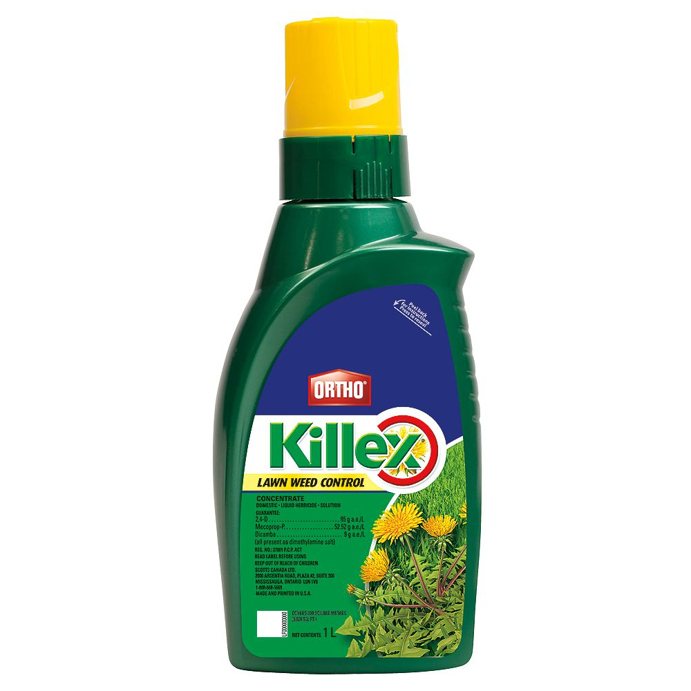 Ortho Killex 1L Lawn Weed Control Concentrate