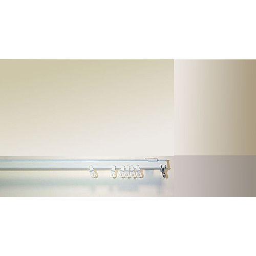 8 ft. I-Beam Track in White