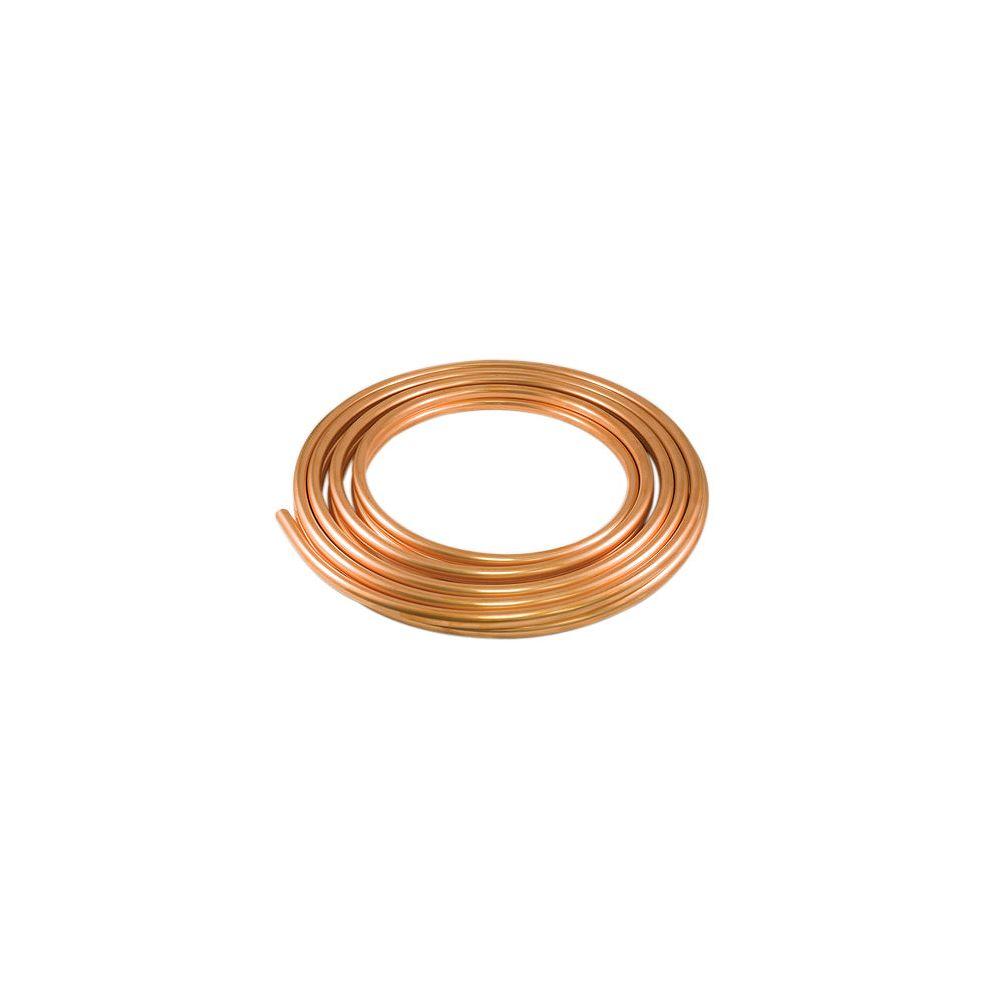 Aqua-Dynamic Bobine De Tuyau Cuivre Qualité Réfrigération 1/2 Pouce x 50 Pieds