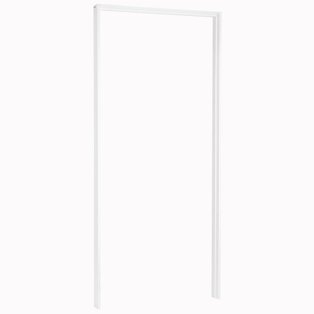 Masonite Primed Mdf Pre Machined Single Door Frame The Home Depot Canada