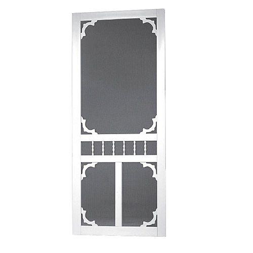 32-inch x 80-inch Carolina Solid Vinyl Screen Door
