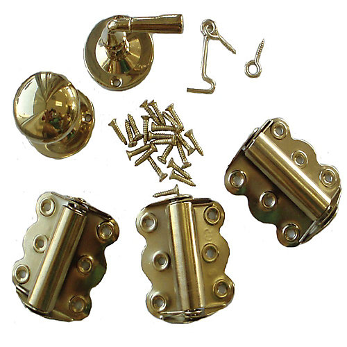 Brass Screen Door Hardware Kit