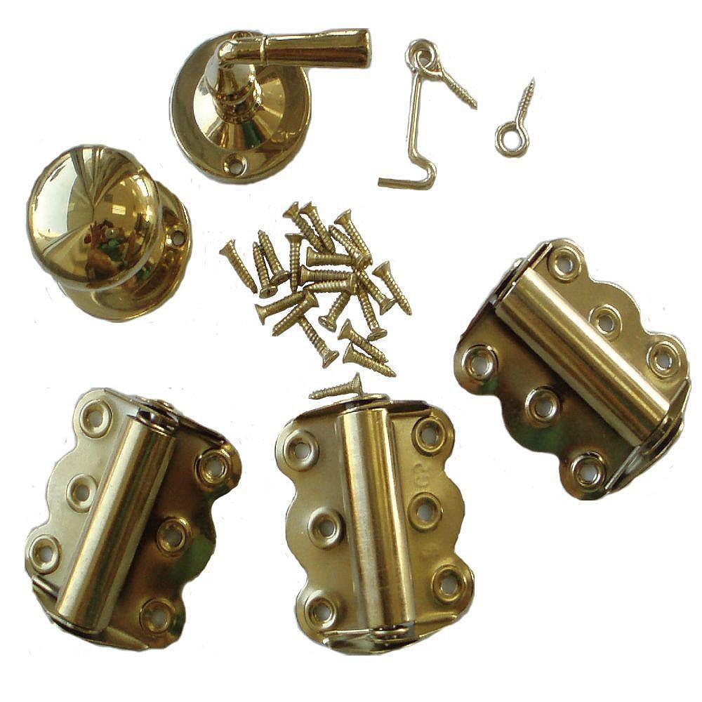DIY Brass Screen Door Hardware Kit