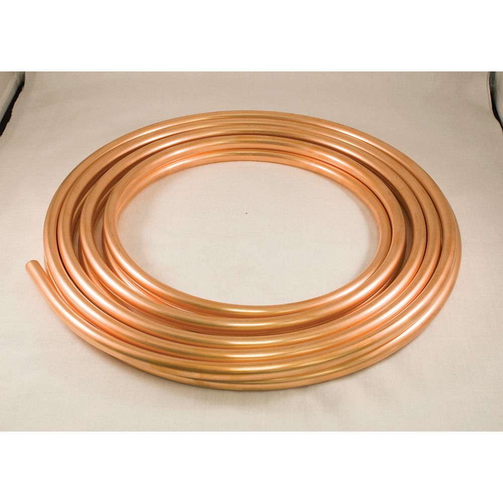 Aqua-Dynamic Copper Refrigeration Coil 3/8 Inch x 50 Foot