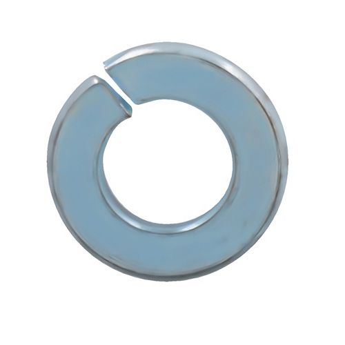 1/4-inch Steel-Regular Spring Lock Washers - Zinc Plated