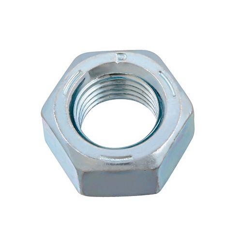 Écrou hexagonal 7/16 po-20 fini - zingué - grade 5 - UNF