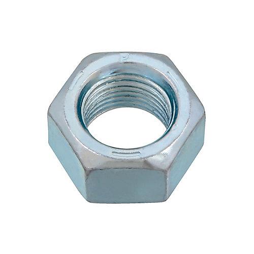 Écrou hexagonal 1/2 pouce-20 fini - zingué - Grade 5 - UNF