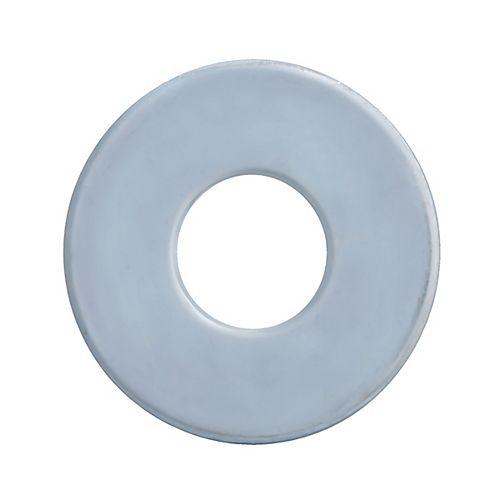 1-inch Plain Steel Washers - Zinc Plated