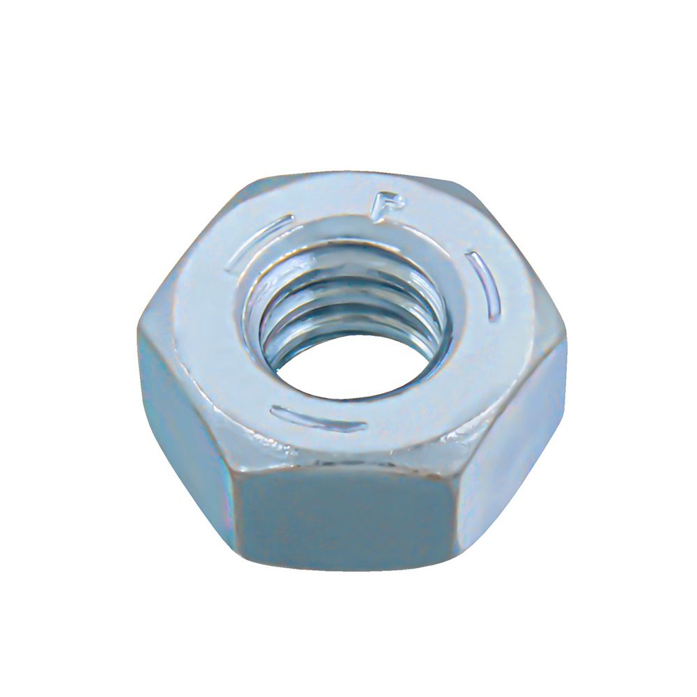 Paulin 1/4-20-inch Finished Hex Nut - Zinc Plated - Grade 5 - UNC - 50pcs