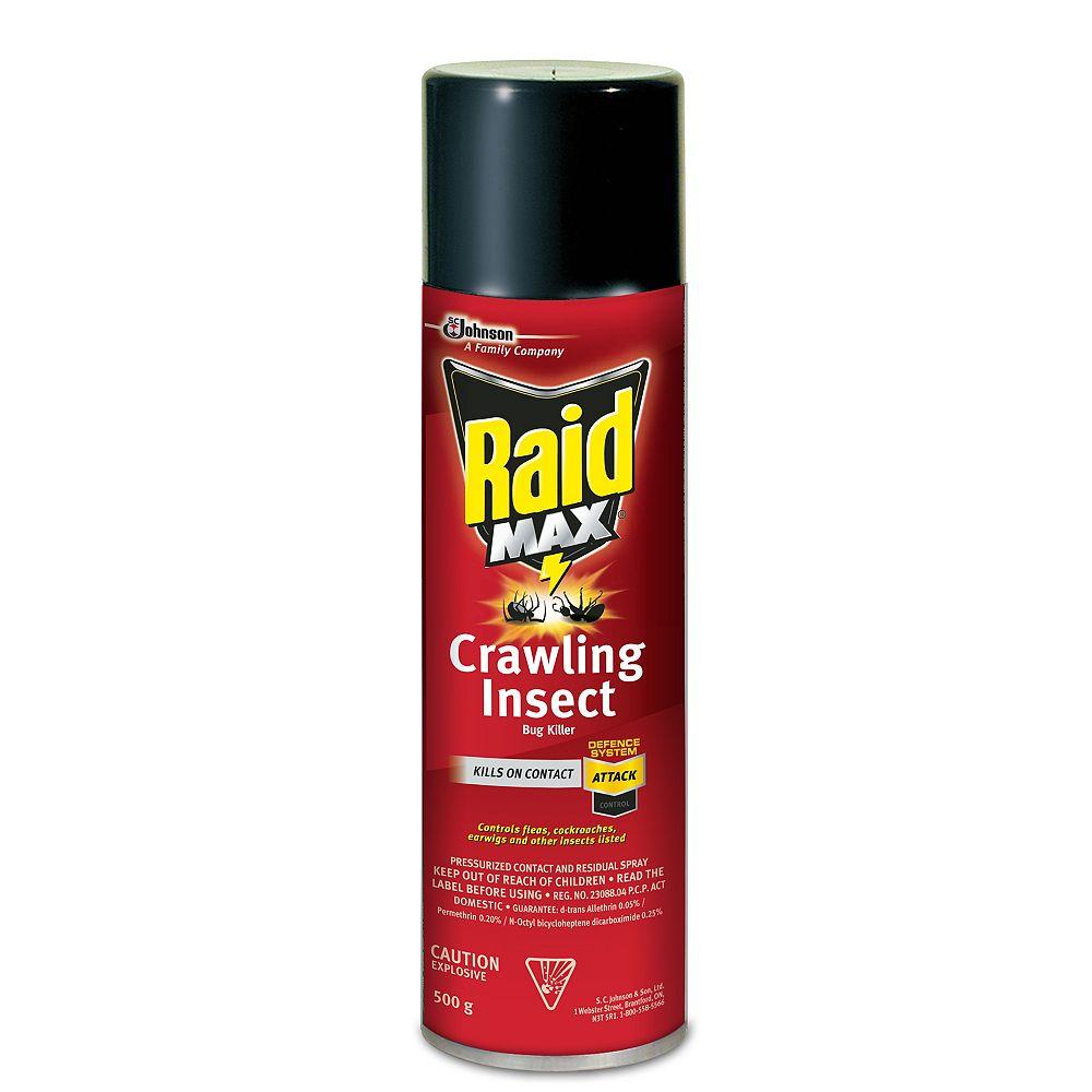 Raid Max Crawling Insect Killer