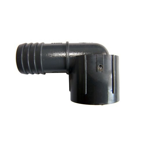 Pvc Female Combination Reducing Elbow - 3/4 Inch Insert X 1/2 Inch Fpt