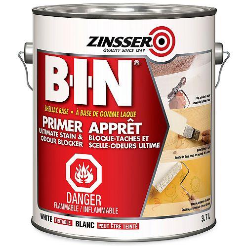 BIN Ultimate Performance Primer Sealer & Stain Killer, 3.7L