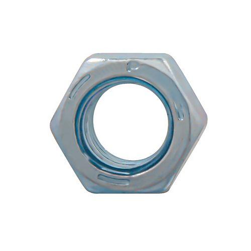 Écrou hexagonal fini 3/8 po-16 - zingué - Grade 5 - UNC