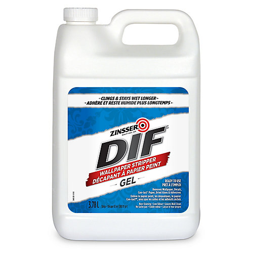 DIF Gel Ready To Use Wallpaper Stripper, 3.78L