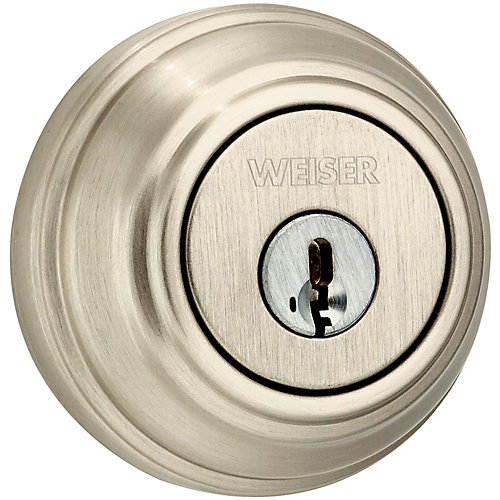 Collections Satin Nickel Single Cylinder Deadbolt