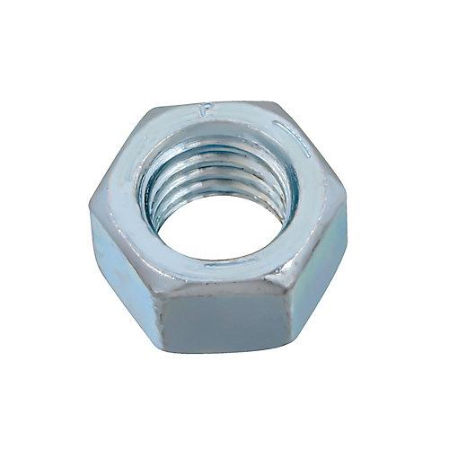 Écrou hexagonal 1/2 pouce-13 fini - zingué - Grade 5 - UNC