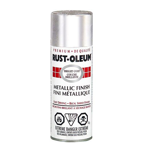 Rust-Oleum Fini Métallique Brillant En Chrome - 312 G Aerosol