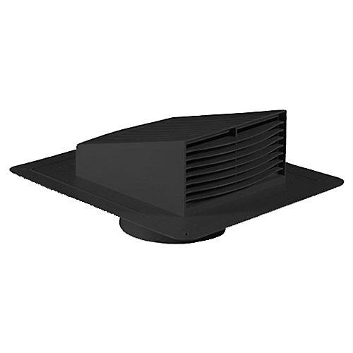 Roof Exhaust Hood 4 Inch Black
