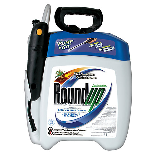 Roundup Pump N Go Grass and Weed Control 5L