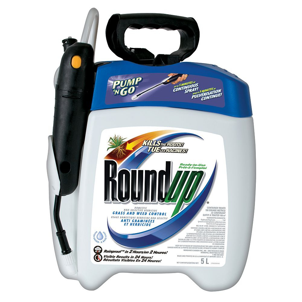 Roundup Roundup Pump N Go Grass and Weed Control 5L