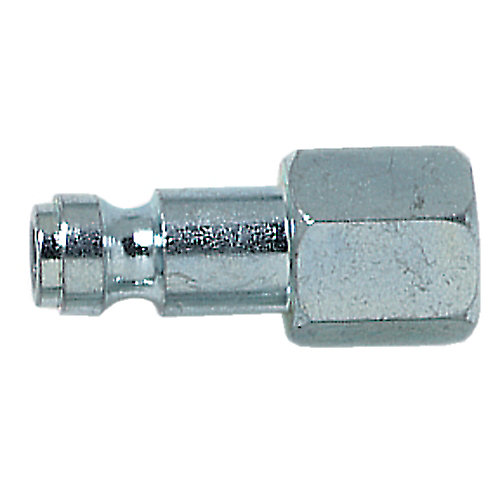 Auto plug NPTM, 1/4 In. id