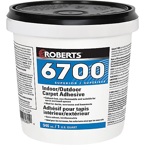 6700, 946mL Indoor/Outdoor Carpet Adhesive and Glue